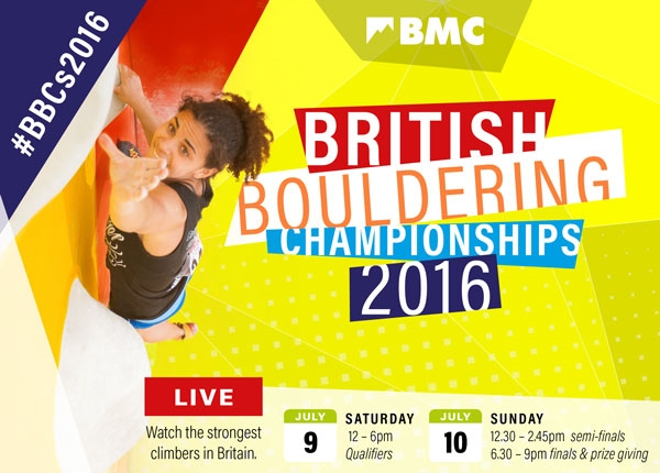 The battle of the British boulderers – WATCH LIVE