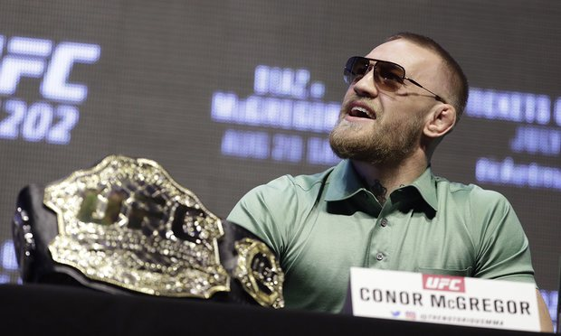 Conor McGregor struted on stage to show UFC needs him more than ever