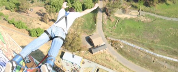 A bungee jump in Soweto