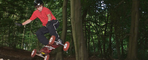 Mountainboarding is one of the fastest growing extreme sports