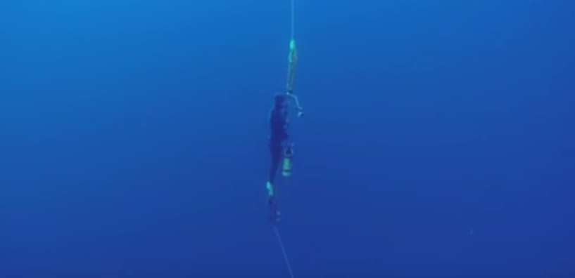 William Winram 145m Freediving World Record