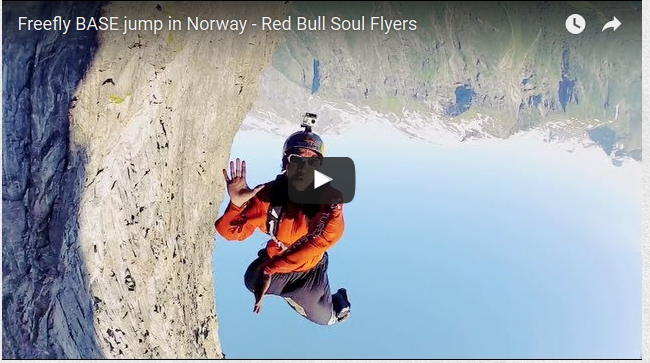 Freefly BASE Jump In Norway – Red Bull Soul Flyers