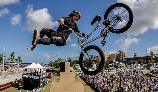 Weekend-long Extreme Sports Event Was Host By Al Lang Stadium