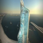 Dubai Marina & New 325m Extreme Sports Tower