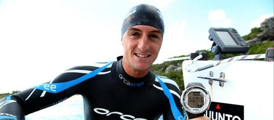 Free Diver William Trubridge Breaks His Own Record