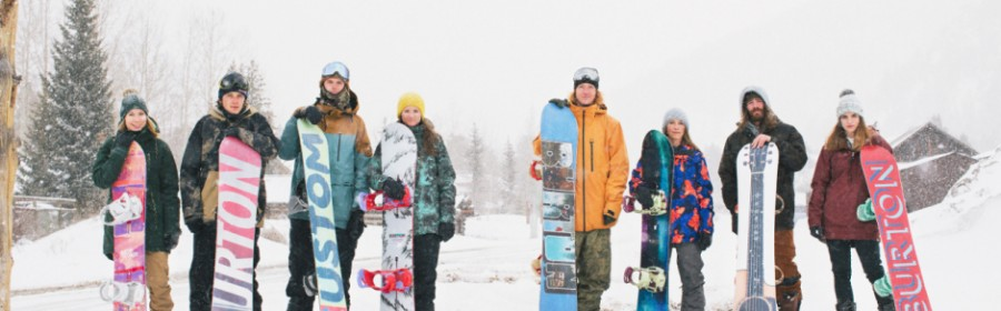 snowboarders