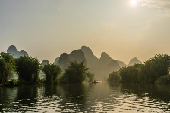 The landscape in southern China is as beautiful as it is challenging