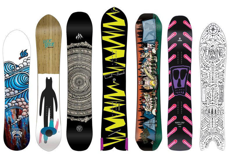 How to spice up your snowboard quiver