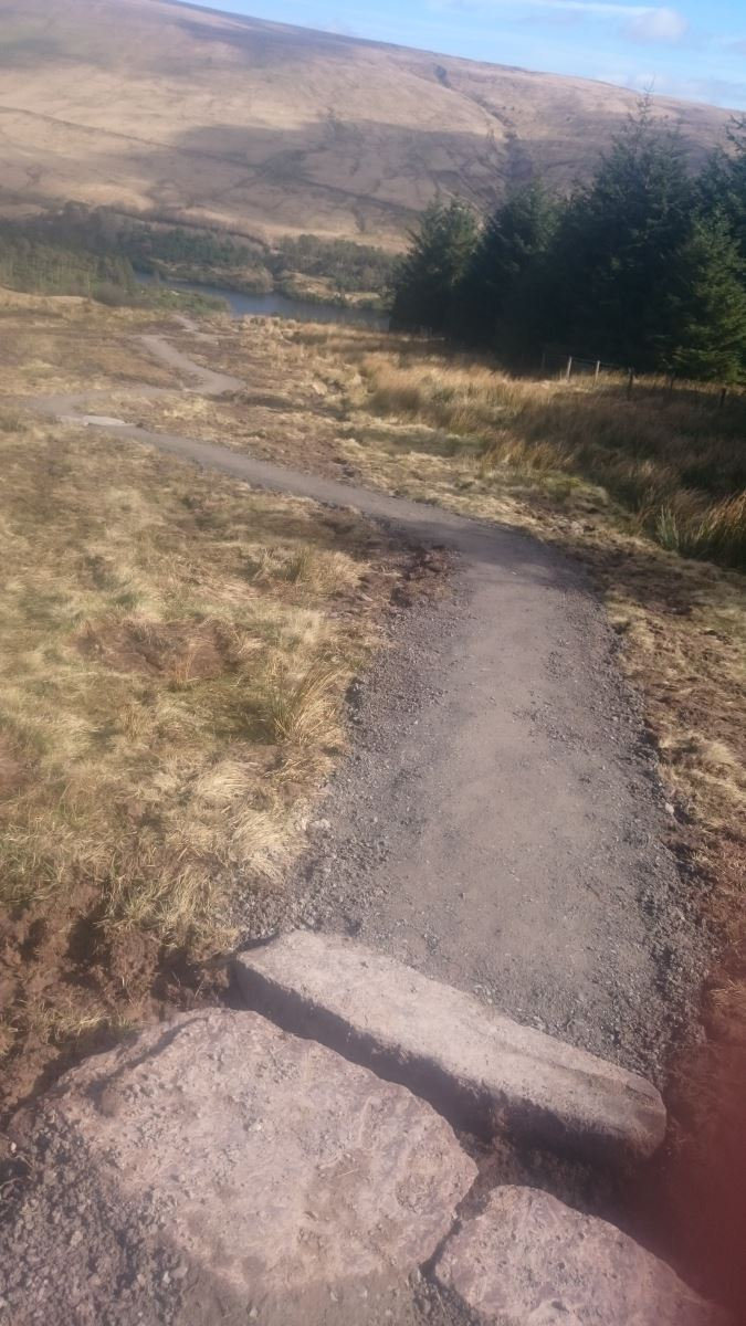 Mend Our Mountains fixes popular footpath in the Brecon Beacons
