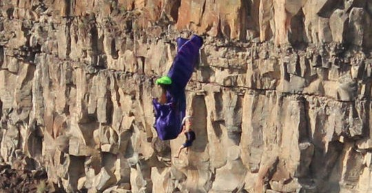 After Base Jumping Accident Two People Missing