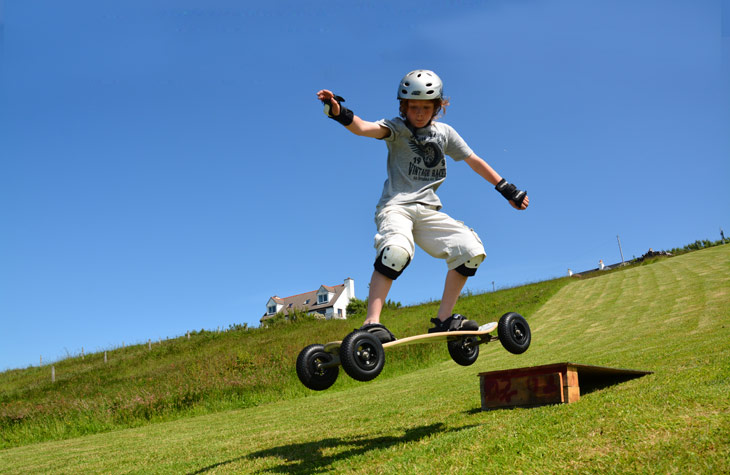Mark Fits Mountainboarding Round His Busy Life