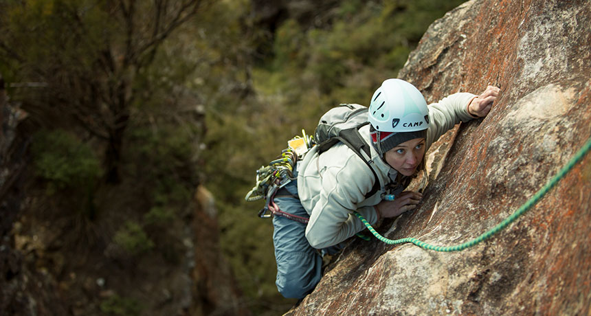 A message to rock climbers: Be kind to nature