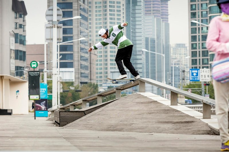 This Is Torey Pudwill's 'Flatbar Frenzy'